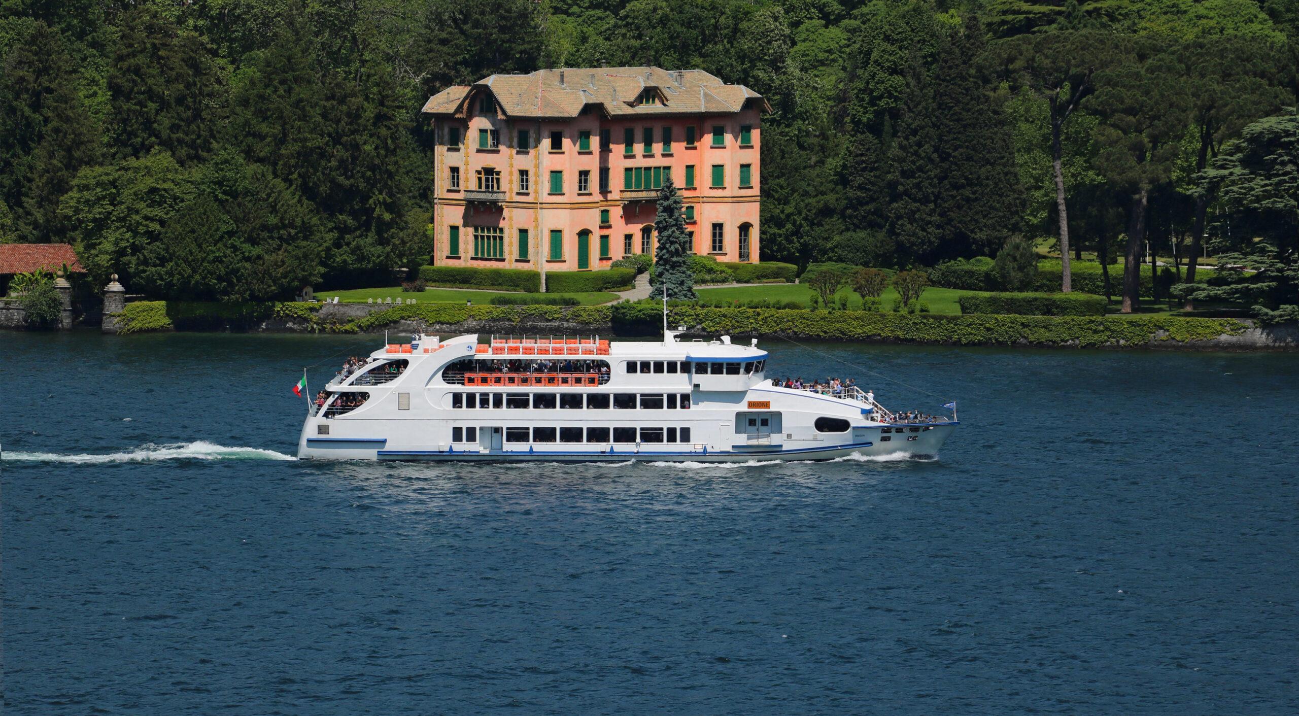 Crociere sul lago di Como